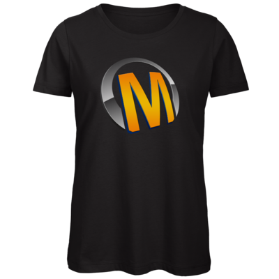 Motiv: Organic Lady T-Shirt - Macho - Logo - Orange