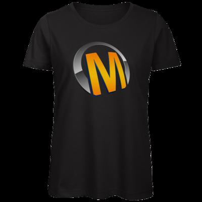 Motiv: Organic Lady T-Shirt - Macho - Logo - Orange