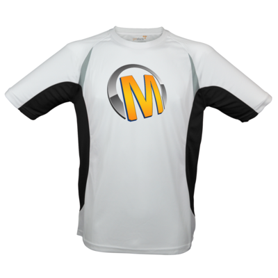 Motiv: Laufshirt Running T - Macho - Logo - Orange