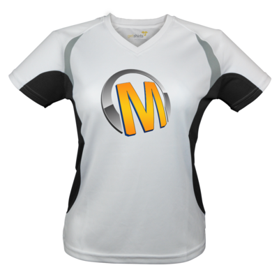 Motiv: Laufshirt Lady Running T - Macho - Logo - Orange