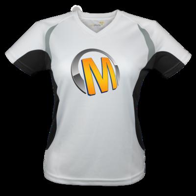 Motiv: Laufshirt Lady Running T - Macho - Logo - Orange