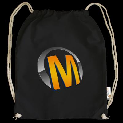 Motiv: Cotton Gymsac - Macho - Logo - Orange