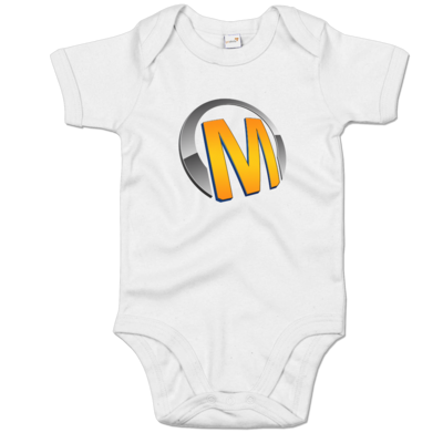 Motiv: Baby Body Organic - Macho - Logo - Orange
