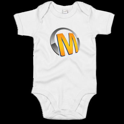 Motiv: Baby Body Organic - Macho - Logo - Orange