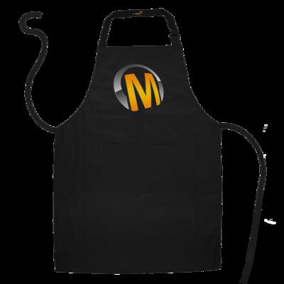 Motiv: Schürze - Macho - Logo - Orange
