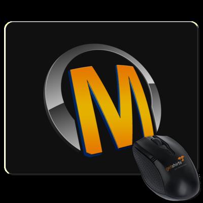 Motiv: Mousepad Textil - Macho - Logo - Orange
