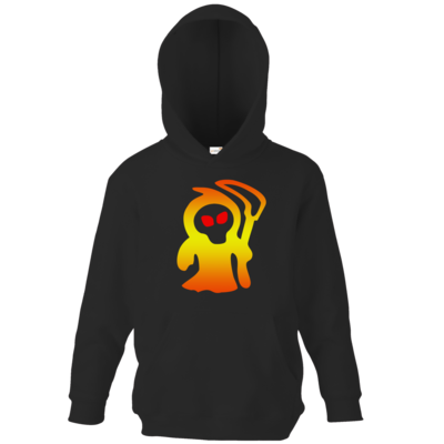 Motiv: Kids Hooded Sweat - Macho - Sensenmann