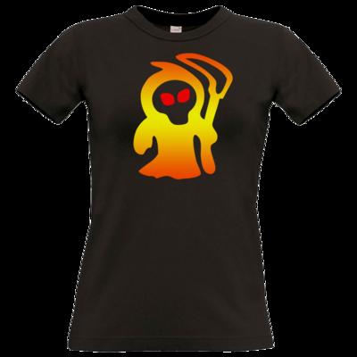 Motiv: T-Shirt Damen Premium FAIR WEAR - Macho - Sensenmann