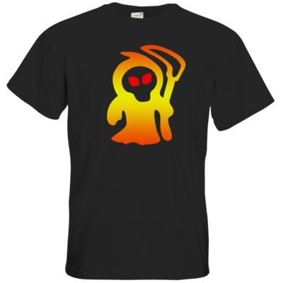 Motiv: T-Shirt Premium FAIR WEAR - Macho - Sensenmann