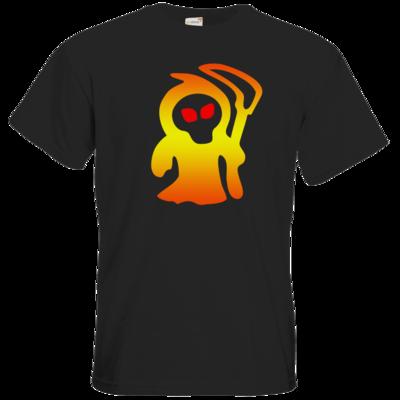 Motiv: T-Shirt Premium FAIR WEAR - Macho - Sensenmann