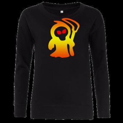 Motiv: Girlie Crew Sweatshirt - Macho - Sensenmann