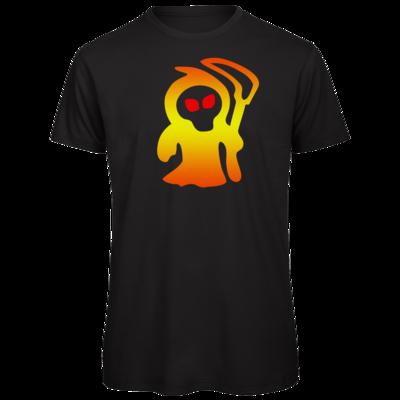 Motiv: Organic T-Shirt - Macho - Sensenmann