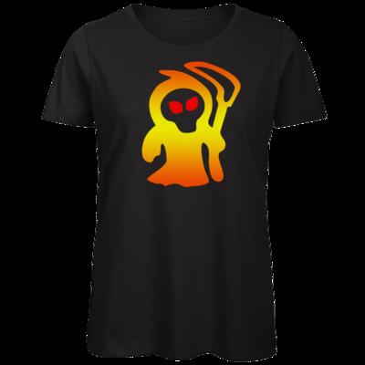 Motiv: Organic Lady T-Shirt - Macho - Sensenmann