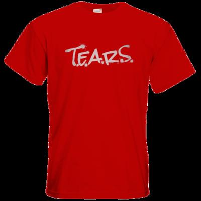 Motiv: T-Shirt Premium FAIR WEAR - TEARS 2.0 - Logo grau