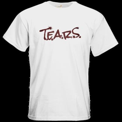 Motiv: T-Shirt Premium FAIR WEAR - TEARS 2.0 - Logo rot