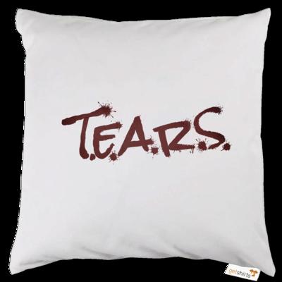 Motiv: Kissen - TEARS 2.0 - Logo rot