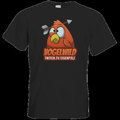 Motiv: T-Shirt Premium FAIR WEAR - Vogelwild