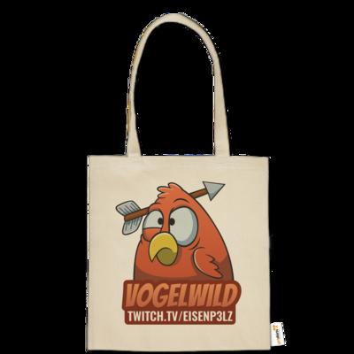 Motiv: Baumwolltasche - Vogelwild