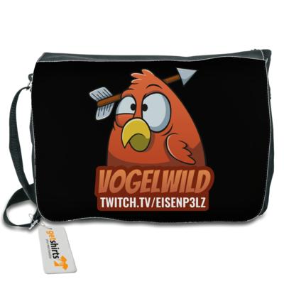 Motiv: Schultertasche - Vogelwild