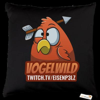 Motiv: Kissen Baumwolle - Vogelwild