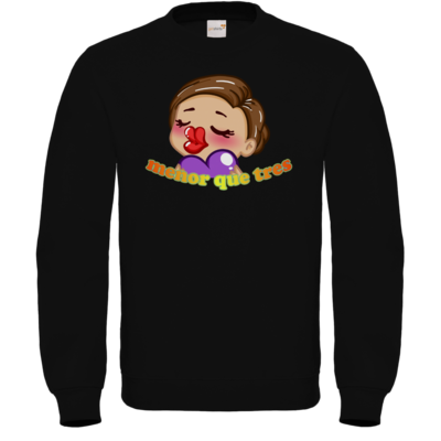Motiv: Sweatshirt FAIR WEAR - AlocaNegra - menor que tres