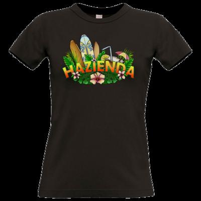 Motiv: T-Shirt Damen Premium FAIR WEAR - AlocaNegra - Hazienda