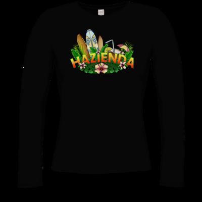 Motiv: Longsleeve Damen Organic - AlocaNegra - Hazienda