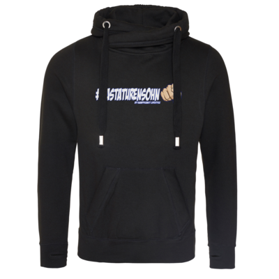 Motiv: Cross Neck Hoodie - Kampfkunst Lifestyle - Tastaturensohn