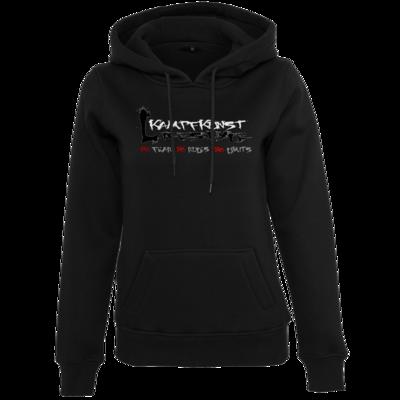 Motiv: Womens Heavy Hoody - Kampfkunst Lifestyle - Logo 1