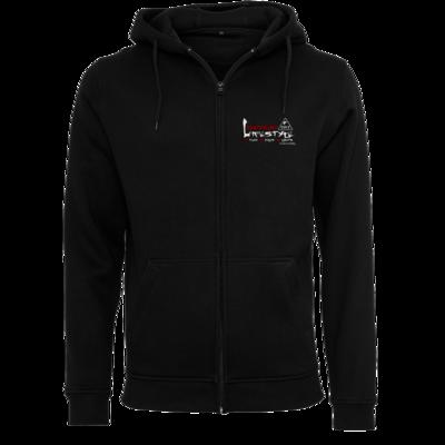 Motiv: Heavy Zip-Hoodie - Kampfkunst Lifestyle - Logo 2