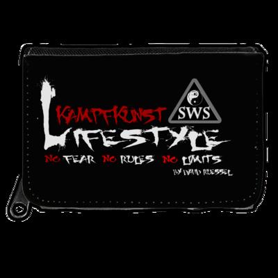 Motiv: Geldboerse - Kampfkunst Lifestyle - Logo 2