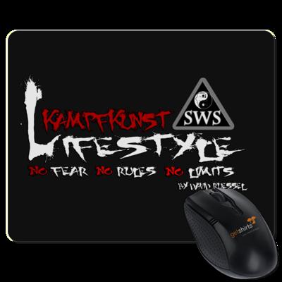 Motiv: Mousepad Textil - Kampfkunst Lifestyle - Logo 2
