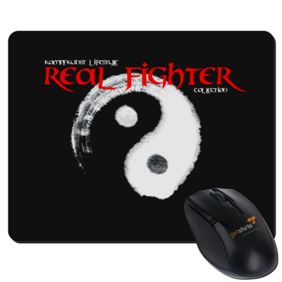 Motiv: Mousepad Textil - Real Fighter