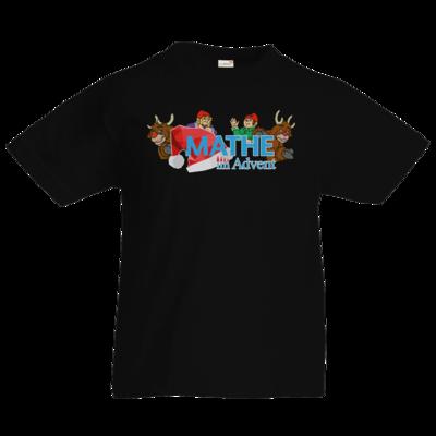 Motiv: Kids T-Shirt Premium FAIR WEAR - Logo mit Wichteln und Rentieren