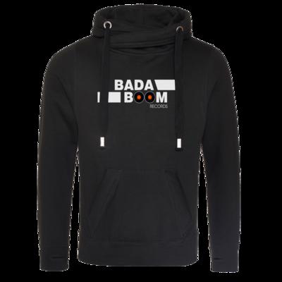 Motiv: Cross Neck Hoodie - BadaBoom