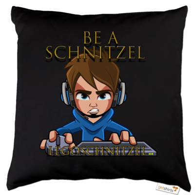 Motiv: Kissen Baumwolle - Be A Schnitzel
