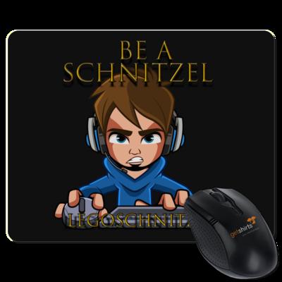 Motiv: Mousepad Textil - Be A Schnitzel