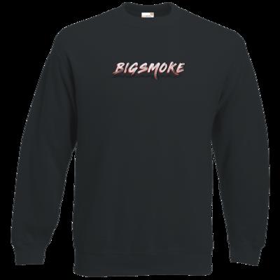 Motiv: Sweatshirt Classic - Schriftzug Big Smoke