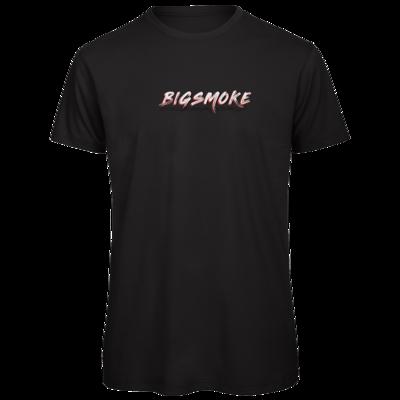 Motiv: Organic T-Shirt - Schriftzug Big Smoke