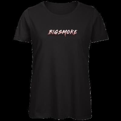 Motiv: Organic Lady T-Shirt - Schriftzug Big Smoke