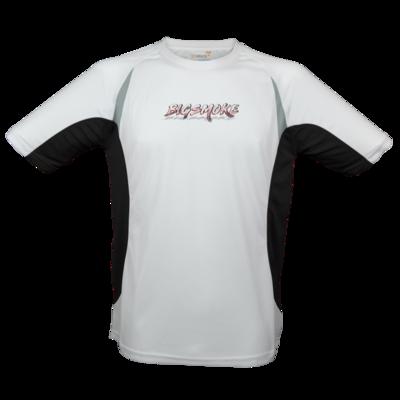 Motiv: Laufshirt Running T - Schriftzug Big Smoke