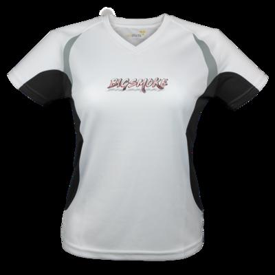 Motiv: Laufshirt Lady Running T - Schriftzug Big Smoke