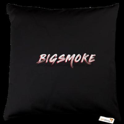 Motiv: Kissen Baumwolle - Schriftzug Big Smoke
