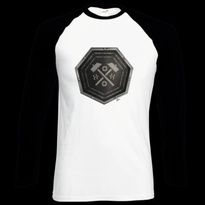 Motiv: Longsleeve Baseball T - Wappen - Xorlosch