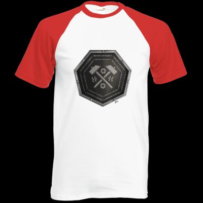 Motiv: Baseball-T FAIR WEAR - Wappen - Xorlosch