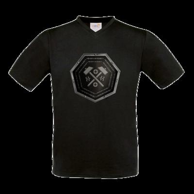 Motiv: T-Shirt V-Neck FAIR WEAR - Wappen - Xorlosch
