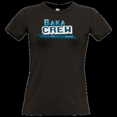 Motiv: T-Shirt Damen Premium FAIR WEAR - BakaCrew Logo mit Claim