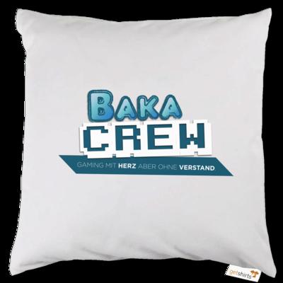 Motiv: Kissen - BakaCrew Logo mit Claim