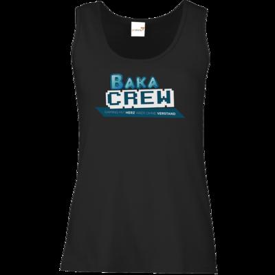 Motiv: Tank Top Damen Classic - BakaCrew Logo mit Claim