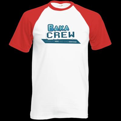 Motiv: Baseball-T FAIR WEAR - BakaCrew Logo mit Claim